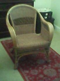 Wicker Cane Chair