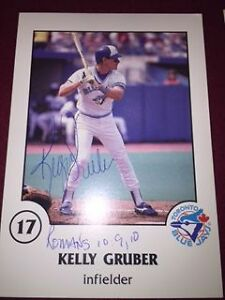 1988 Toronto Star Large Blue Jays Photo Card Set with  Autograph Kitchener / Waterloo Kitchener Area image 2