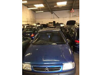 1999 (T) Citroen Saxo Eastcoast 1.2 Petrol Breaking for Parts
