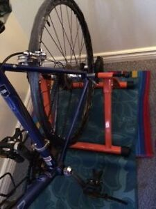 Indoor Bike Trainer (Perfect for Winter Training or Riding)