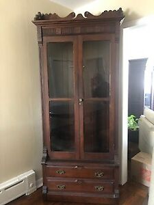 Highboy Cabinet- East Link -Victorian  solid wood