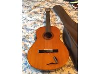 Classical guitar with accessories - excellent condition - £60