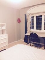 Room for rent; north oshawa; close to transit for uoit/durham