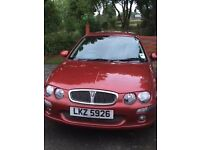 Rover 25 Impression S3 5 door hatchback, Petrol, Dark Red metalic.