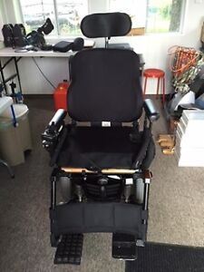 Quantum Edge Tilted Power Wheelchair