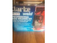 BRAND NEW (unused) Clarke Professional Mig 151TE Turbo Welder