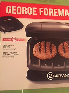 George Foreman Fat-Reducing Grill