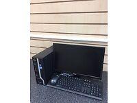 HOME COMPUTER DESKTOP(FULL SET)(ONLY £95.00)