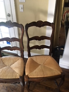 Dining Chairs - Excellent condition