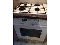 Neff electric oven and gas 4 burner hob