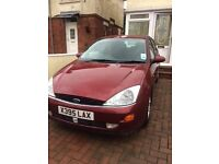 For sale 2000 Ford Focus 2.0l petrol with mot