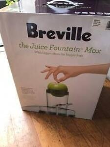 Breville Juice Fountain Max - Juicer Tempe Marrickville Area Preview