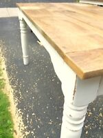 Charming Rustic Dining Table