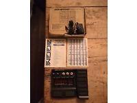 Zoom GFX-707 Guitar Effects Processor, original box and power lead!
