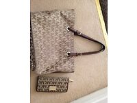 Michael Kors Handbag and matching Purse