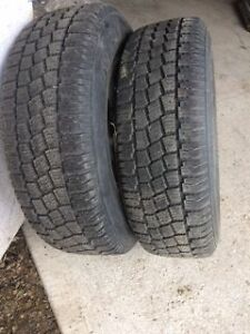4 Toyota Winter Rims and Tires