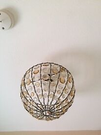 Light shade for ceiling light Cherry Hinton Rd/Mill Rd area