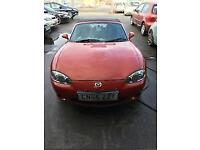 Mazda MX-5 1.8i Icon convertible Mot August 18