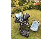 mamas and papas buggy/ travel system suitable from birth cheap for quick sale