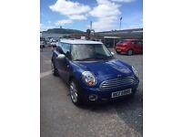 Mini Cooper 2008 Blue Excellent Condition MOT Start/Stop