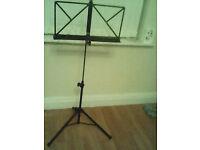 Telescopic music stand 5