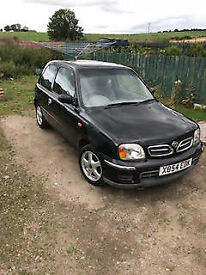 2000 Nissan Micra 1.4 se (automatic gearbox)