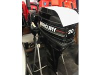 20hp Mercury Outboard