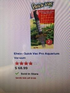 BRAND NEW EHEIM QUICK GRAVEL PRO VAC AQUARIUM GRAVEL CLEANER