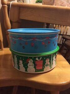 Tupperware  Christmas Containers