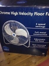 45cm chrome floor fan Woodford Blue Mountains Preview