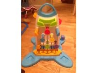 Fisher Price Roller Block Playwall
