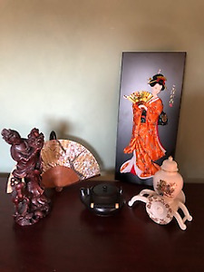 Japanese inspired decor