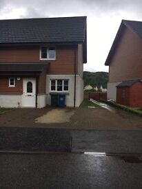 Oban. 2 Bed End Terraced House for Rent.