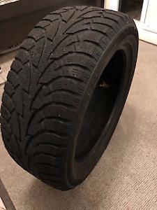 Ensemble de 4 pneus d'hiver usagés 225\50R17