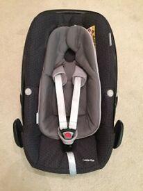 Maxi-Cosi Pebble Plus Car Seat - Black Crystal