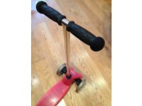 Mini Micro children's scooter with T-bar handle - Pink