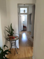 5 ½ - 2 bedrooms + small bedroom or office- renovated kitchen- a