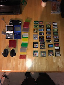 Game boy advance, 3 game boy advance sp with games