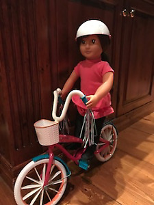 Journey girl doll and bike