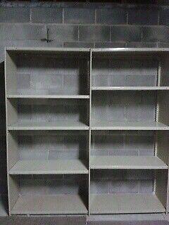 Heavy duty metal shelving