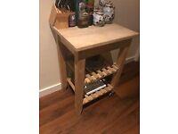 Kitchen Work & Storage Bench