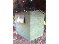 Free - Garden Shed - 6ft x 4ft - needs a little TLC