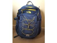 North Face diesel blue & acid yellow rucksack NEW WITH TAGS
