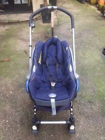 Bugaboo Frog Pram/Stroller/Car Seat