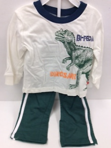 Boys 2 pc sets -long pants with long sleeve Tee