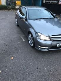 Mercedes-Benz C Class 2.1 C250 CDI BlueEFFICIENCY AMG Sport 2dr