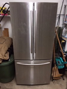 Samsung Fr. Door Refrigerator with Internal Water/Ice Dispenser