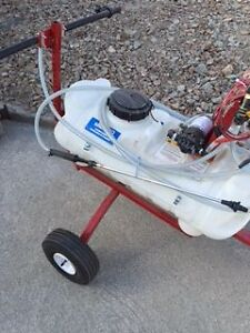 BRAND NEW!! SHUR LIFT - TOW TYPE TRAILER SPRAYER - 15 GAL.