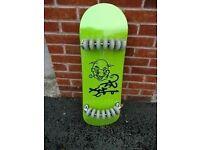 14 wheeled skateboard