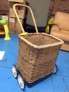 Wicker trolley basket Randwick Eastern Suburbs Preview